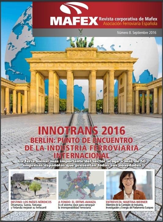 2016-09 Mafex Magazine Especial Innotrans_1
